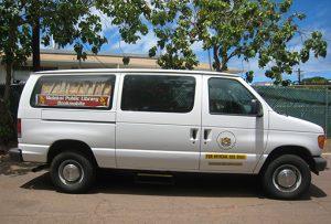 Molokai bookmobile