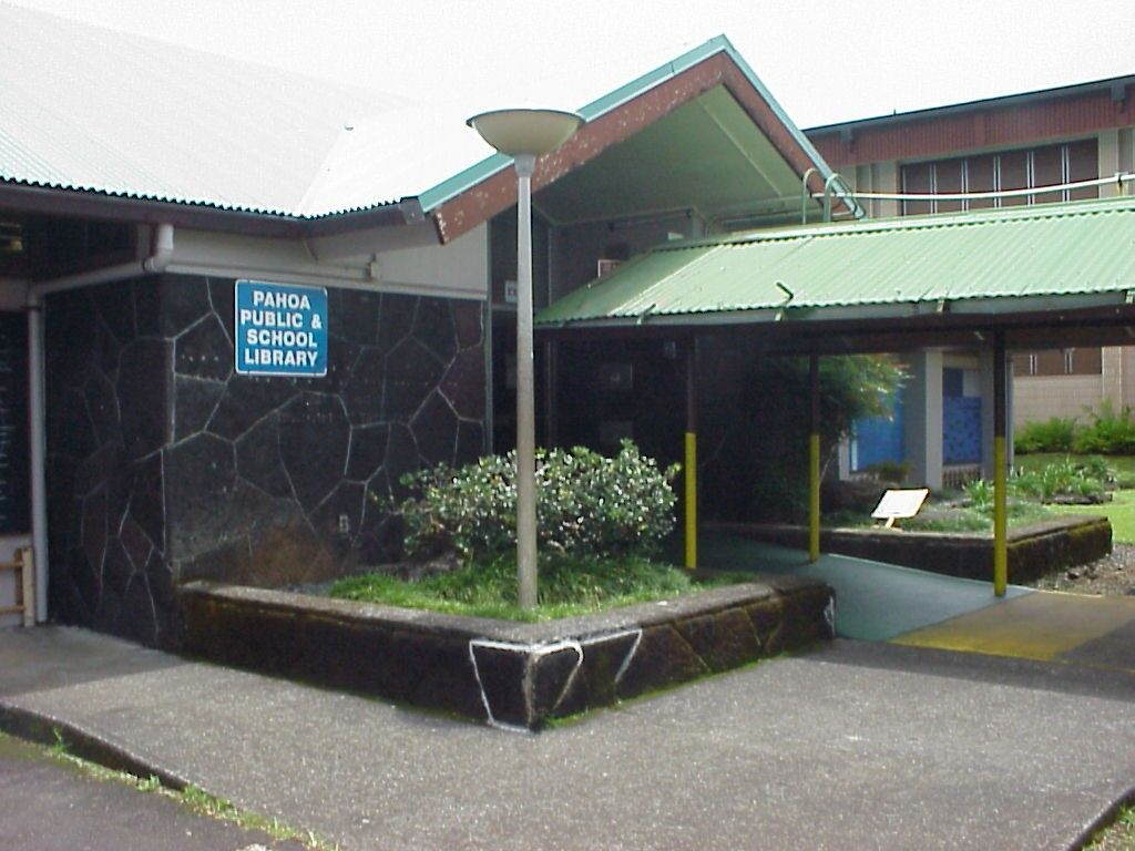 Hawaii State Public Library System | Pahoa Public and School Library