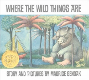 Book cover of Where the Wild Things Are by Maurice Sendak