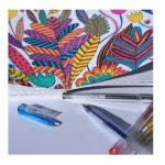 Coloring, art therapy