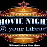 Movie Night at Kahuku Library