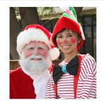 Santa and Elf - Kapolei