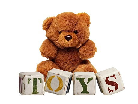 Bear and Toy for Play Mornings