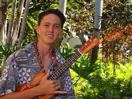 Ukulele Musician Anthony Pfluke