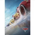 animated cars racing for movie Cars 3