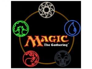 Magic The Gathering card game logo