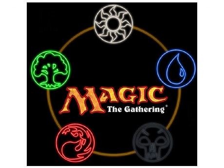 Magic The Gathering card game logo
