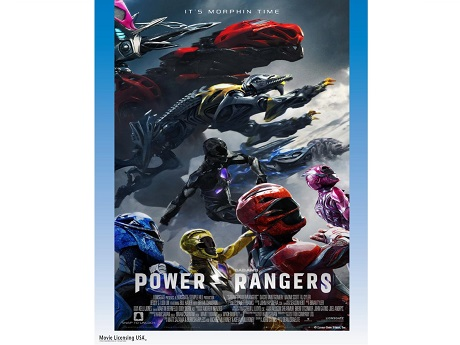 Saban's Power Rangers movie poster