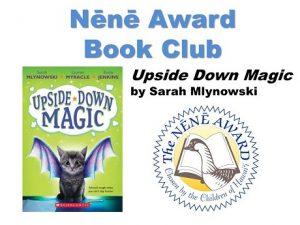 Book cover for upside down magic