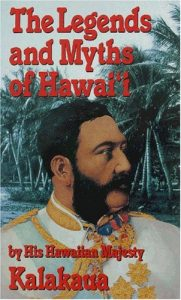 Book cover of the legends and myths of hawaii