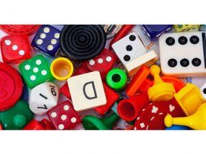 Various tabletop games