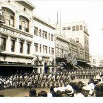 WWI parade Hawaii