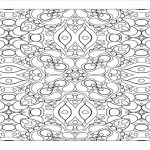 abstract design, adult coloring