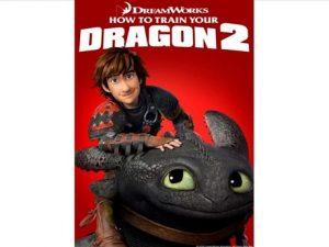 a boy sitting on top of a dragon