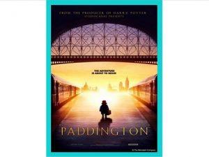 Paddington Bear in a station