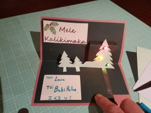 Pop-Up Holiday Card