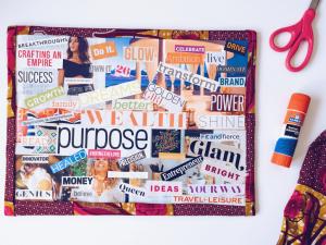 picture of collage vison board