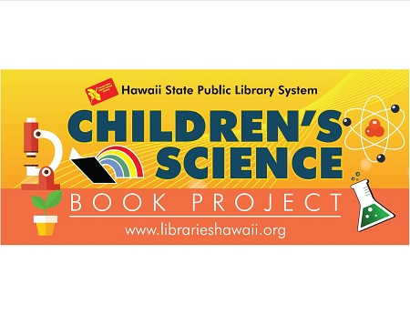 banner design for Children's Science Book Project