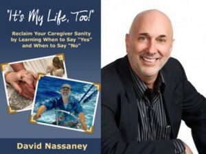 Book cover and headshot of David Nassaney