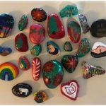 Painted River Rocks