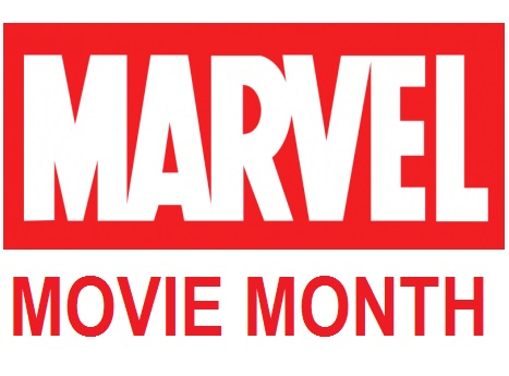 Marvel Movie Month text image