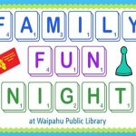 Waipahu Family Fun Night Logo