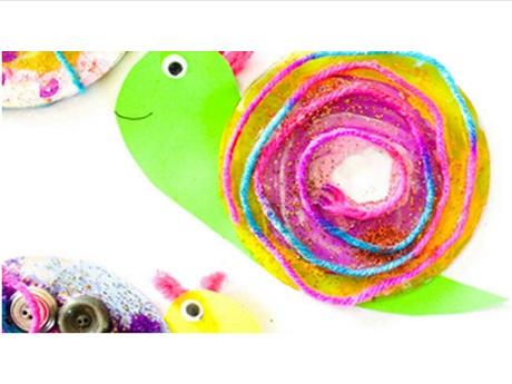 Create These Super Cool Snails By Re Purposing Some Old CDs This Easy Craft Is Suitable For Ages 5 And Up Limited To The First 12 Patrons