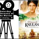 Saturday Afternoon at the Movies logo featuring Princess Kaiulani