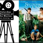 Saturday Afternoon at the Movies Logo featuring Secondhand Lions