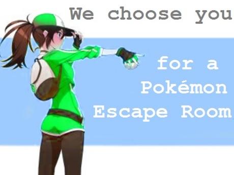 Pokemon Escape Room