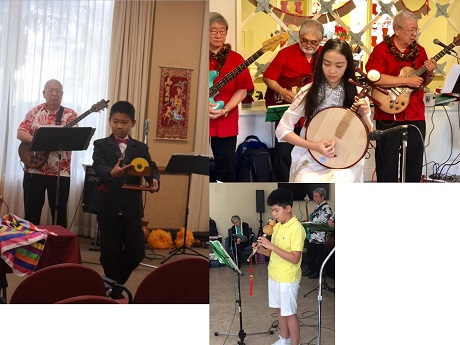 Virgil Tan (left), Victoria Tan (right), Harry Tan (bottom)