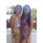 Two Hawaiian girls