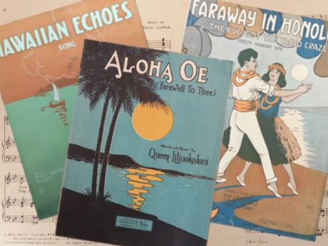 Hawaiian Sheet Music