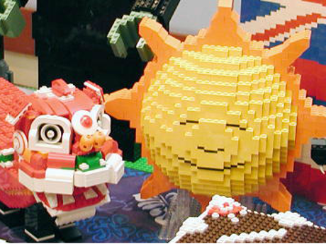 LEGO sculptures created by LEAHI