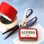 Altoid tin and craft items