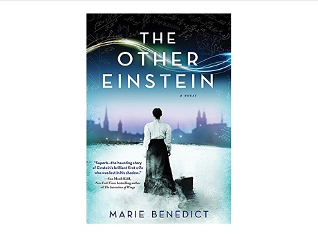 Color image of the front cover of the book The Other Einstein: A Novel by Marie Benedict