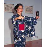 Okinawan dancer Cheryl Nakasone