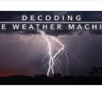 Lightning Storm with Title of Movie
