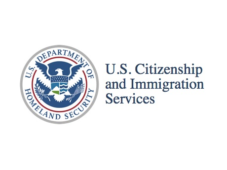 US Citizen and Immigration Services logo