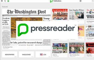 Pressreader tutorial