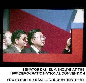 Senator Daniel K. Inouye at 1968 Democratic National Convention