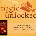 The Magic Unlocked - Unlimited downloading of Harry Potter and the Sorcerer's Stone until September 10, 2018