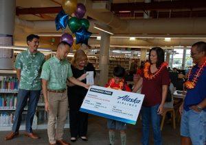 2018 Summer Reading Program Grand Prize Winner