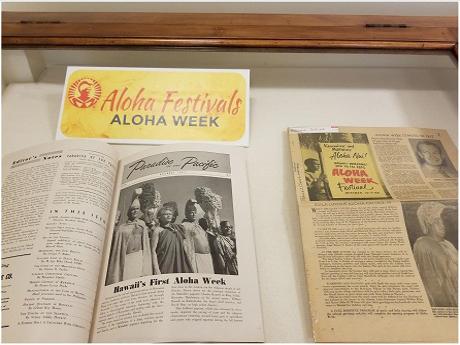 Aloha Festivals Exhibit