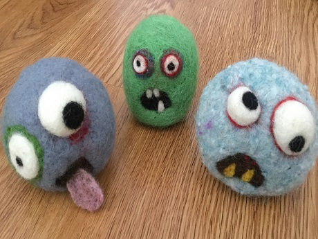Zombies - Felted