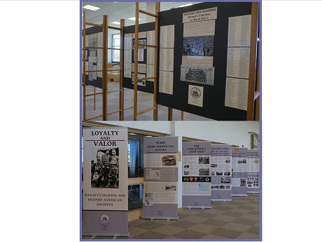 Filipino American Veterans WWI & WWII Exhibit