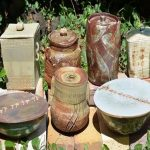 Japanese ceramics cold-water containers