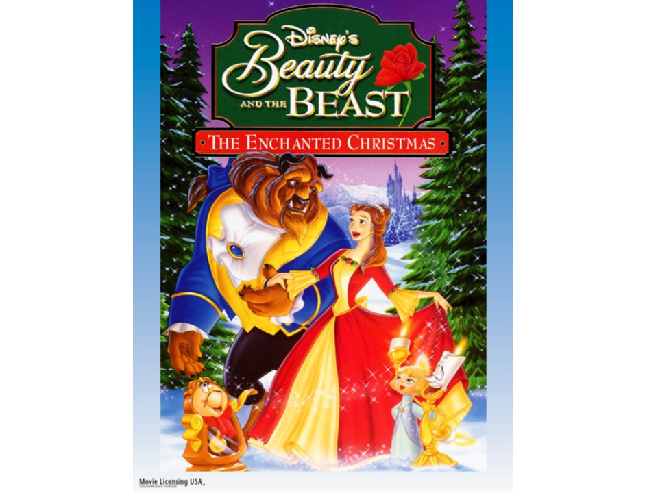 Beauty and the Beast: Enchanting Christmas movie cover
