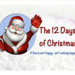 image santa 12 days of christmas