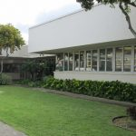 Exterior of Aina Haina Public Library